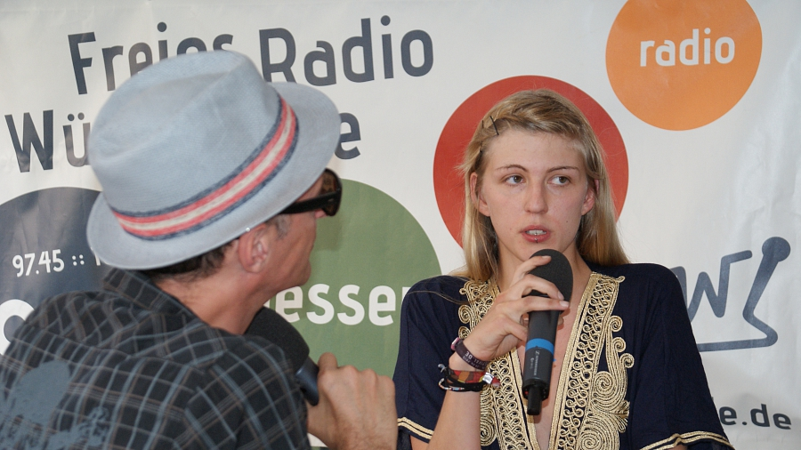 Freies Radio Wüste Welle Lokalmagazin Stadtfest Tübingen 2015
